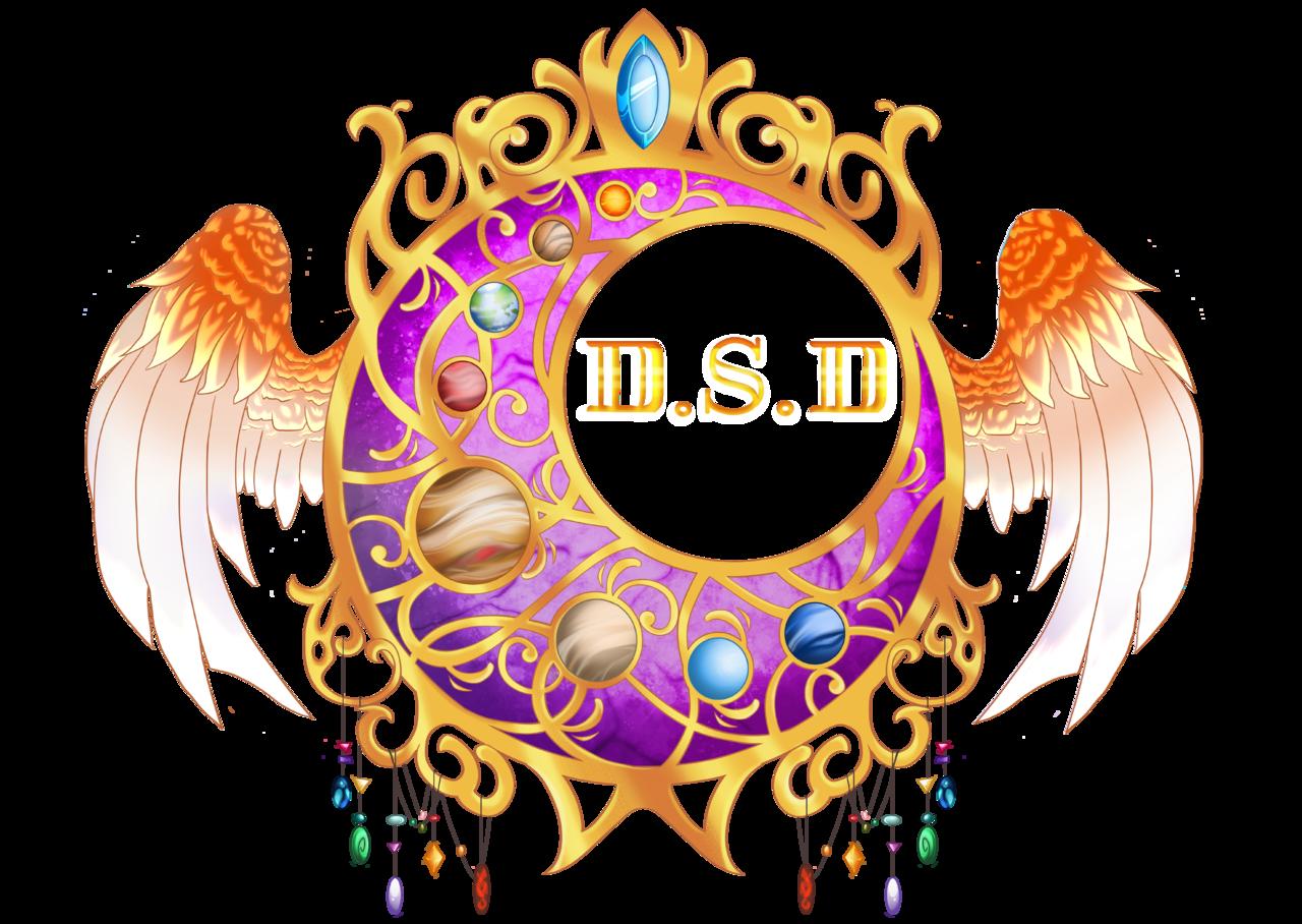 D.S.D Dont. Stop.Dreaming purple logo