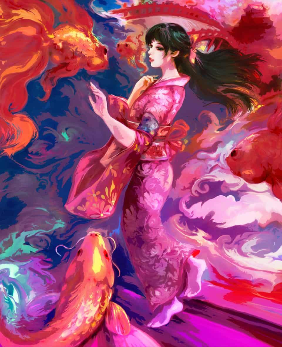 Illust of 晴夜星子 Kyoto_Award2020_illustration