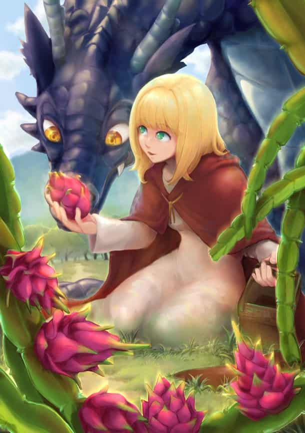 Dragon fruits are like from another world