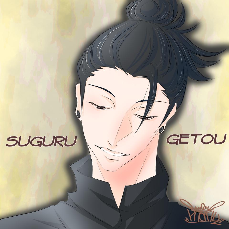 呪術廻戦♪  夏油さん♪ Illust of Manu medibangpaint カラー JujutsuKaisen digital illustration 夏油傑 color