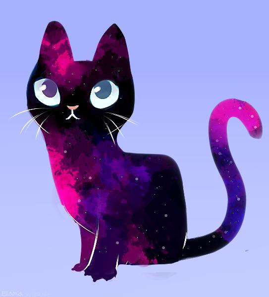 Kitty galaxy Illust of Ellamia Original_Illustration_Contest