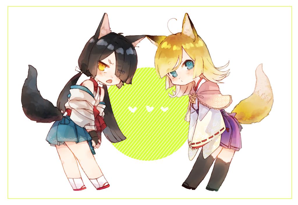 💛💛💛 Illust of myk animal_ears girl oc