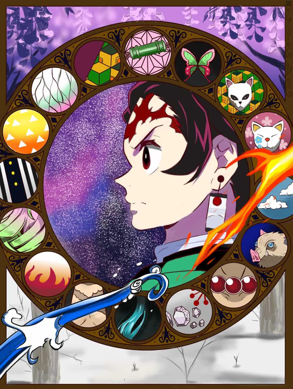 羈絆 Illust of 我想靜靜 DemonSlayerFanartContest KimetsunoYaiba 鬼滅の刃柱 鬼滅の刃オリキャラ