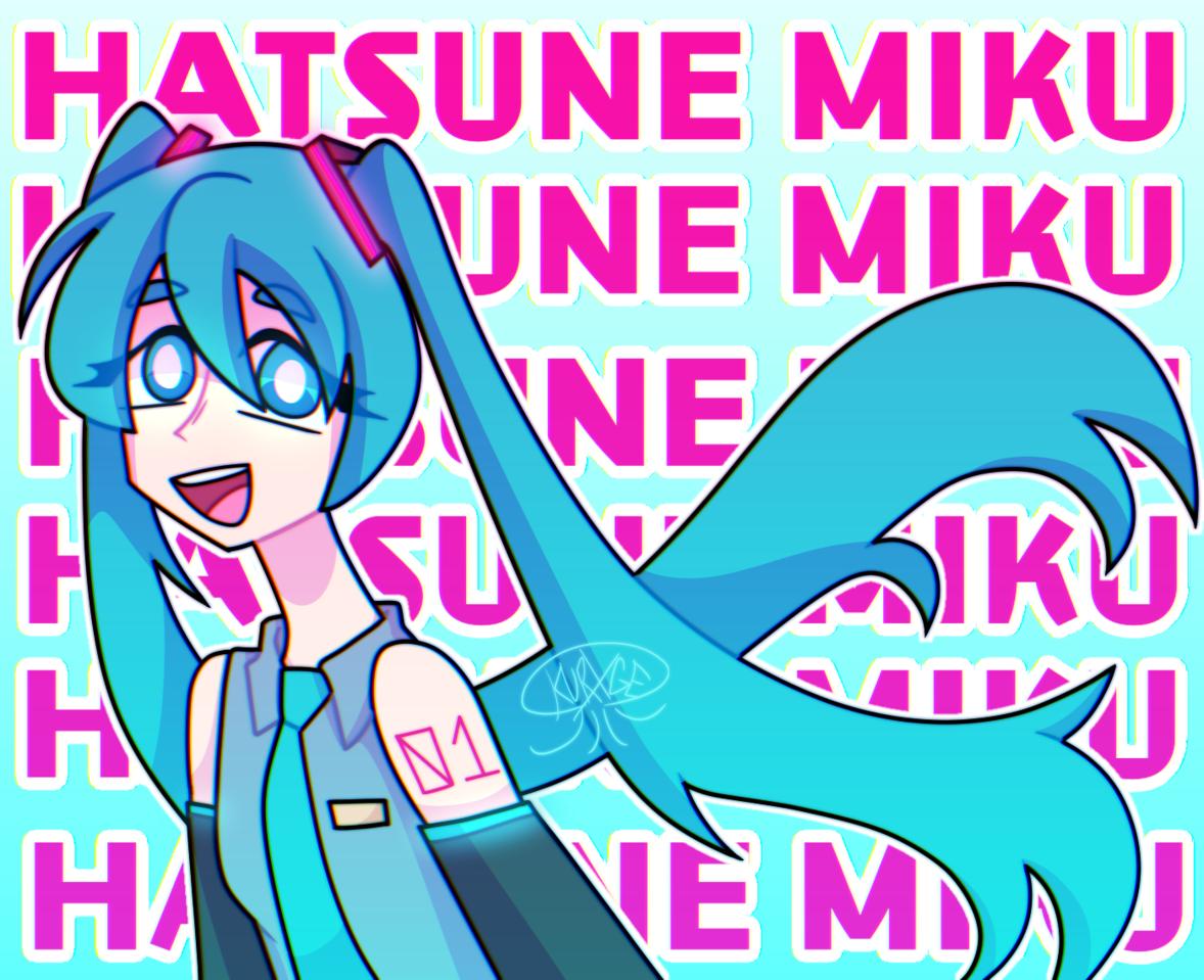 Miku Day! Illust of kurxge 39 girl mikuday VOCALOID hatsunemiku illustration