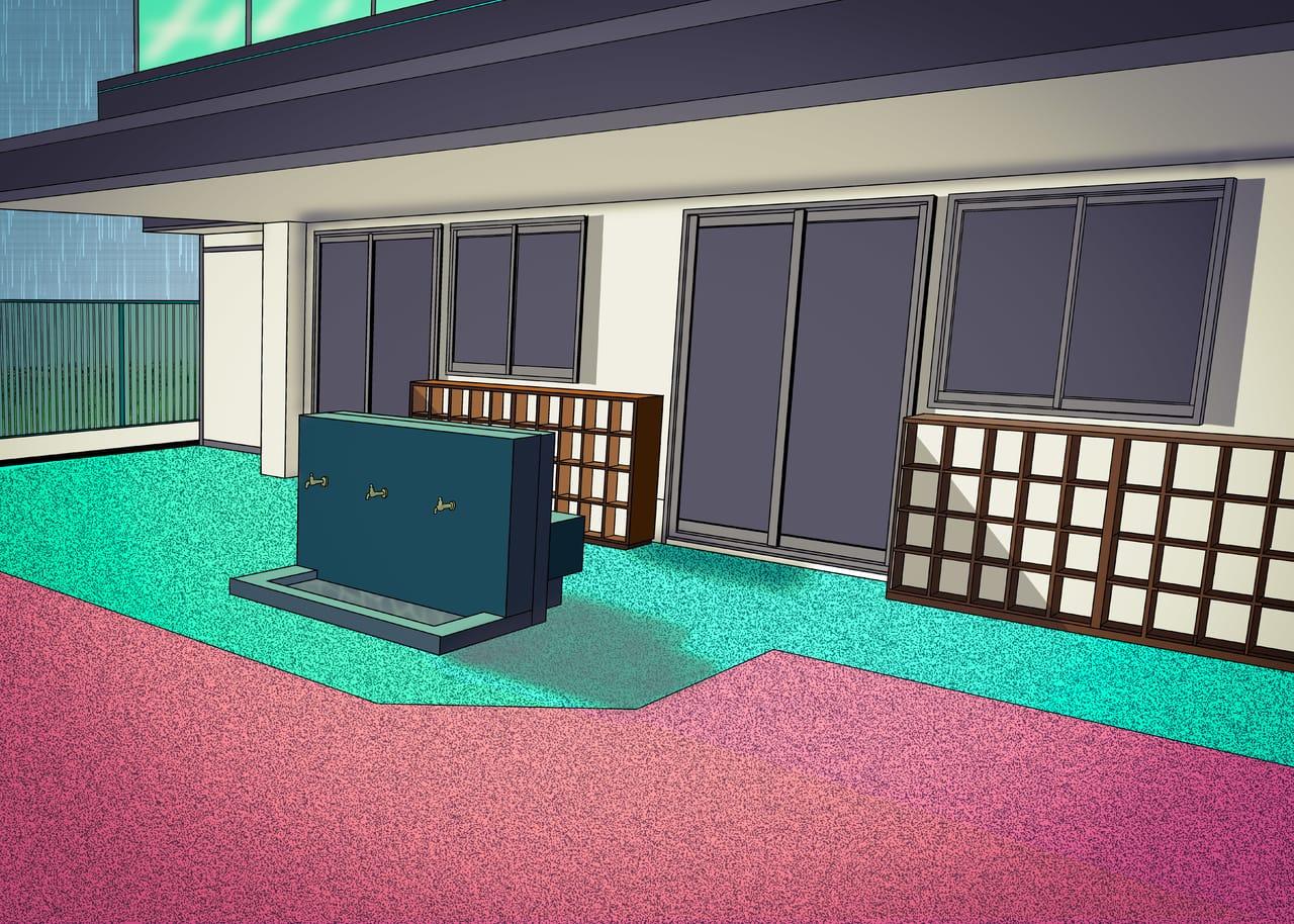 晴雨 Illust of 梦痴 BackgroundImageContest_Coloring_Division Background_Image_Contest illustration