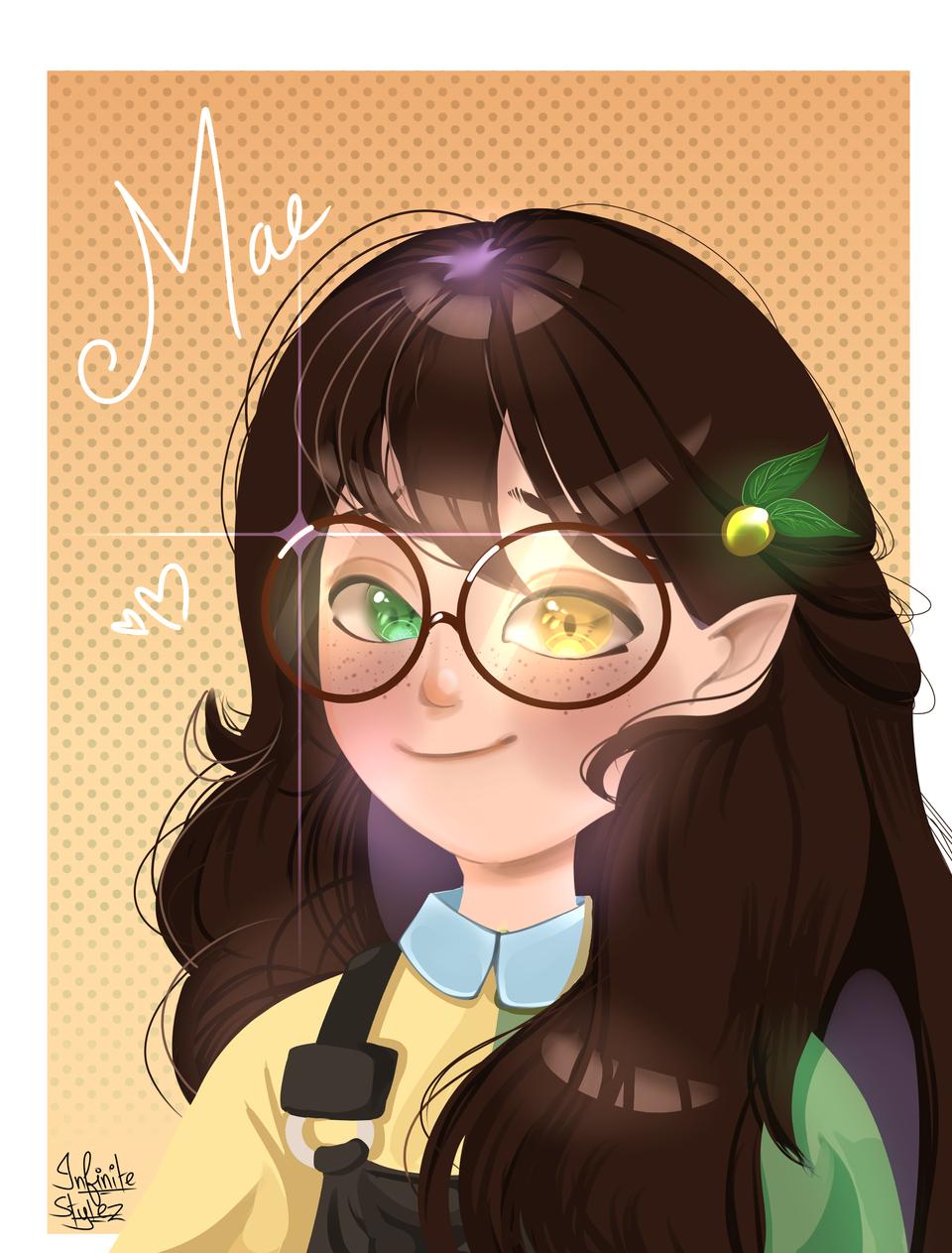 Request done for Bella! I hope ya like it ^^ Illust of Infinite stylez medibangpaint green cute infinitestylez Bella naturelover Mae