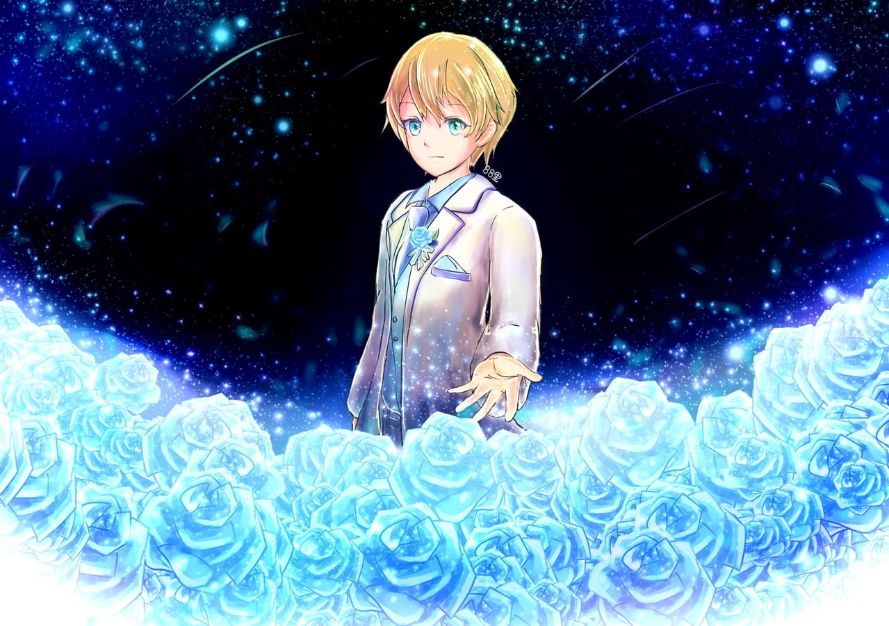 ユージオ誕生祭 Illust of 88里 April2021_Flower Sword_Art_Online rose ユージオ誕生祭 青薔薇 ユージオ flower ユージオ生誕祭 SAOアリシゼーション