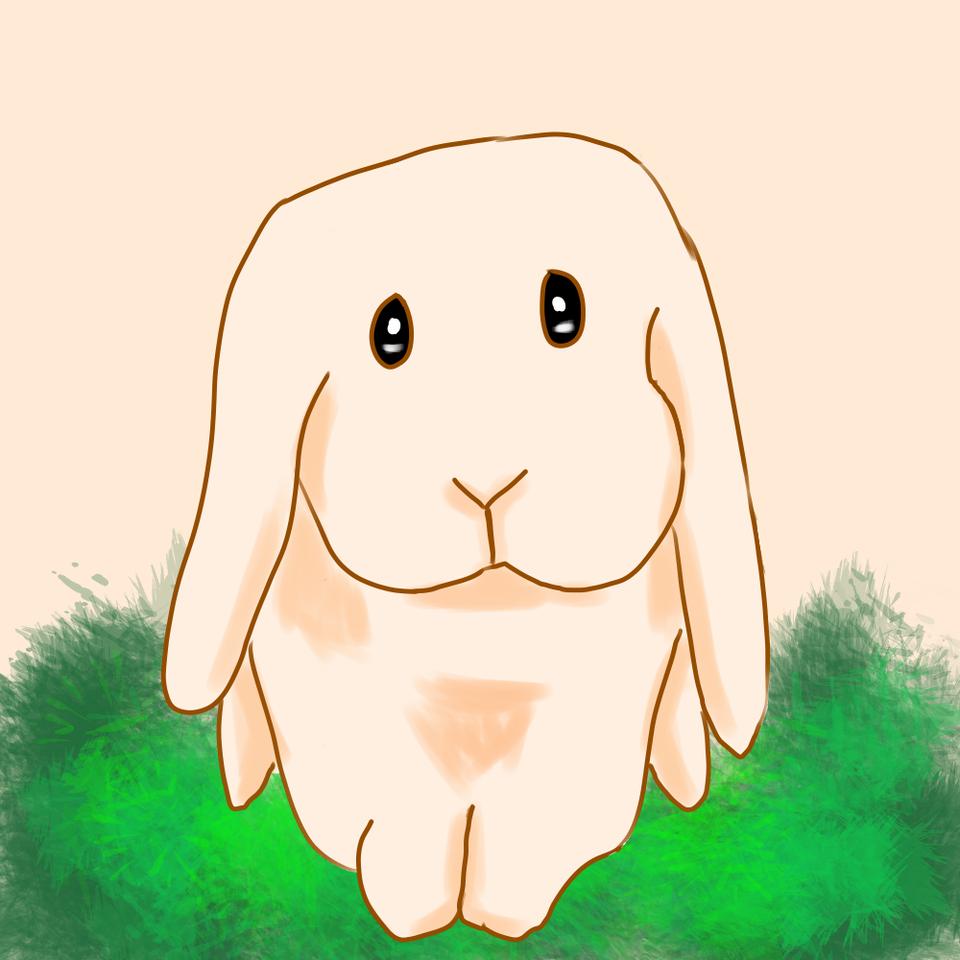 レッツ!ワンドロフライデー‼︎「うさぎ」 Illust of tsunepiko@MediBang レッツワンドロ medibangpaint rabbit