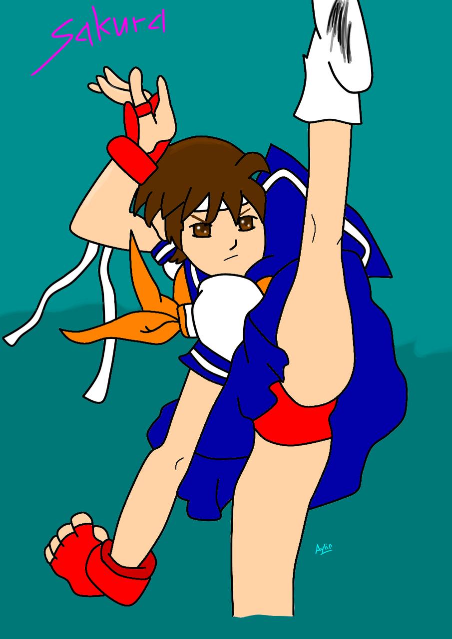 Sakura_Streetfighter  Illust of ayna_unihog medibangpaint StreetFighter