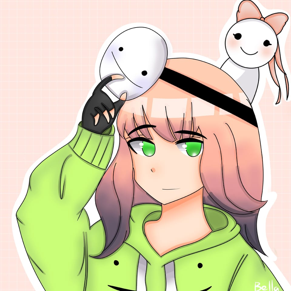 My Entry for Kuri's Contest :) Illust of ꜱᴀᴘᴘʏʙᴇʟʟᴀ • ꜱᴀᴘɴᴀᴘ ᴍᴏᴅᴇ©️ green Kuricontest1 pink DreamiiKuri ContestEntry contest anime thisartshouldlvlup Entry animegirl