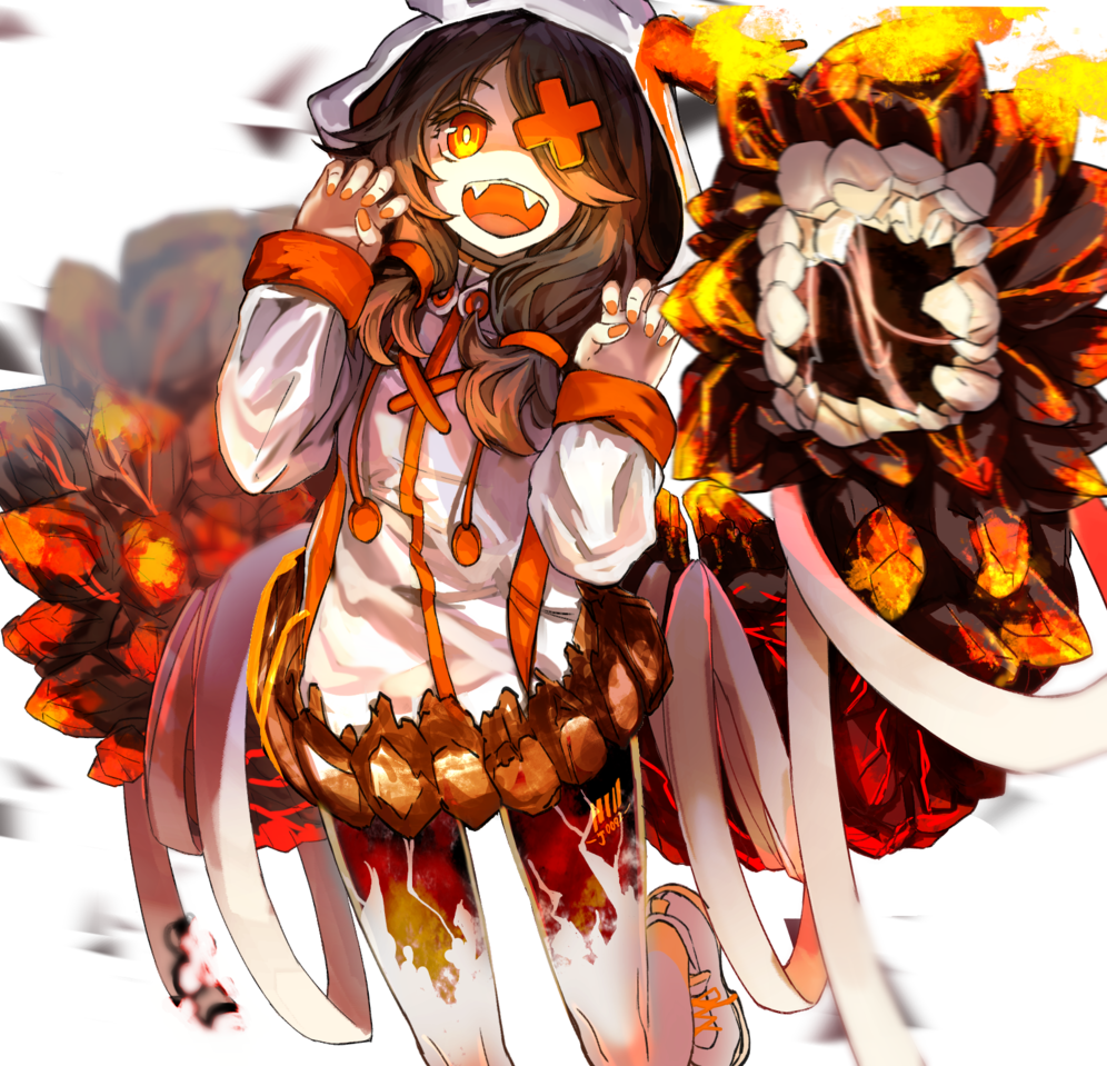 Gaooo!!!! Illust of コムノ Original_Illustration_Contest medibangpaint girl oc original モンスター娘