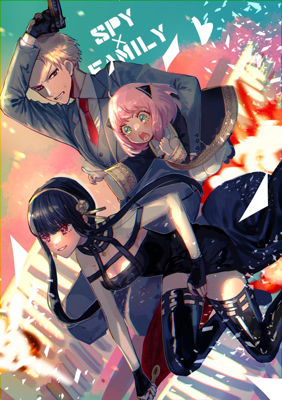 作戦決行! Illust of logA SPY×FAMILY_Contest SPY×FAMILY