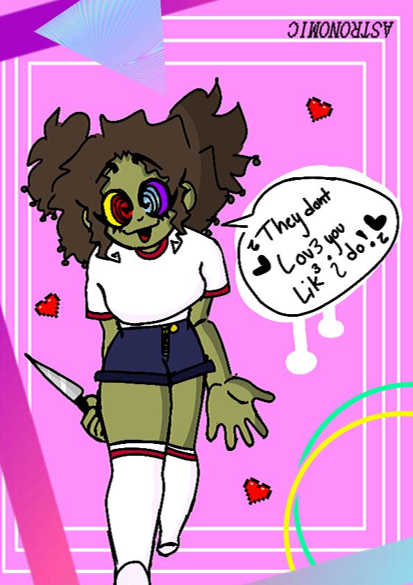🎵🎶 🖤 They don't love you like i do! 🖤 🎵🎶 Illust of ᴀꜱᴛʀᴏɴᴏᴍɪᴄ⁵ (Has moved to insta) uwu monster 👌🏾👌🏾 Enjoy-!! :0 Me 👏🏾👏🏾 hopeyoulikeit enjoy