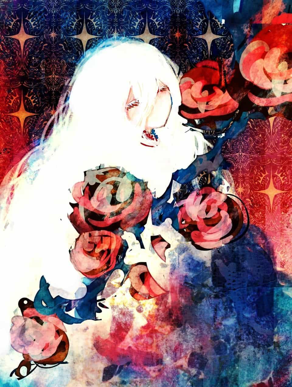 Illust of n white_hair original girl vampire medibangpaint doodle スマホ描き oc