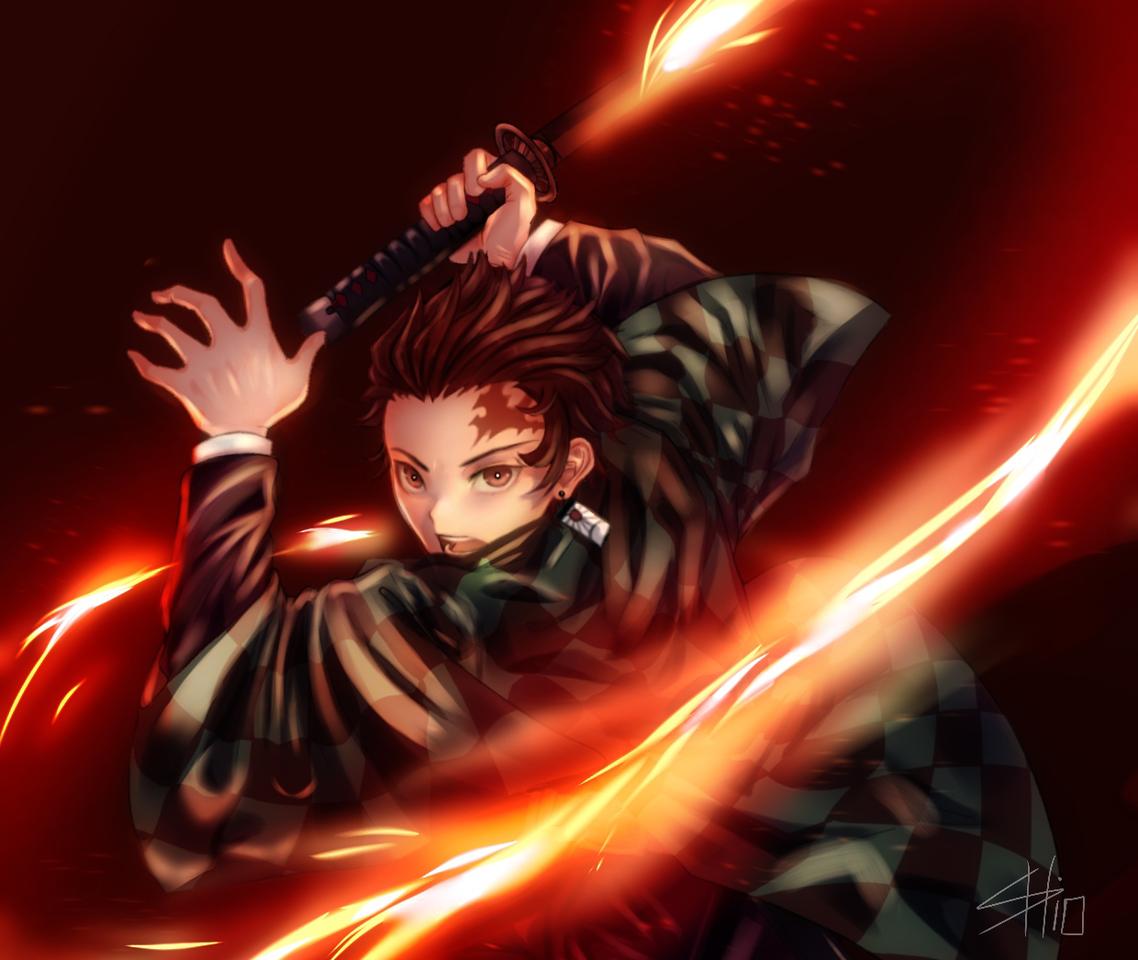 Kamado Tanjiro Illust of SHio DemonSlayerFanartContest medibangpaint KamadoTanjirou KimetsunoYaiba HinokamiKagura
