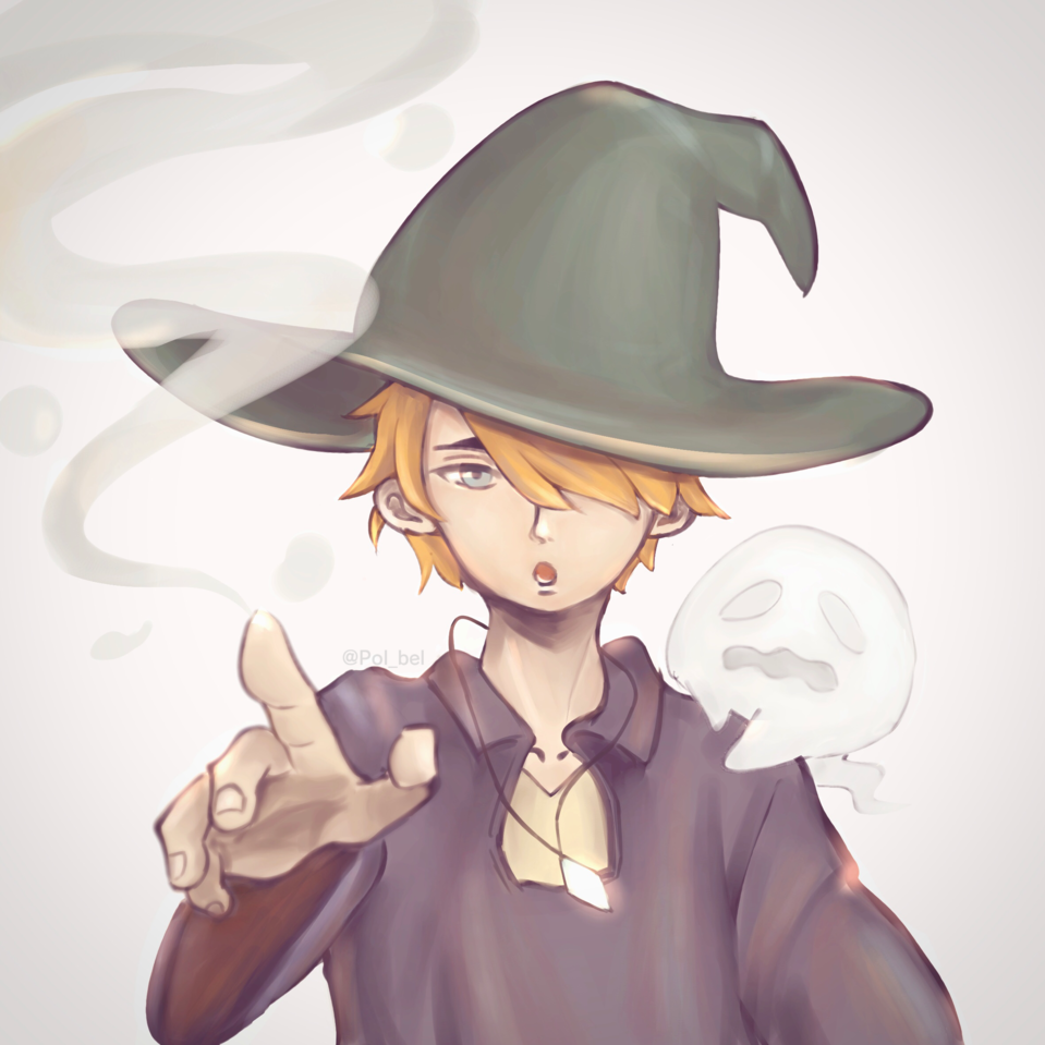 魔法使い Illust of pol_bel medibangpaint iPad_raffle wizard