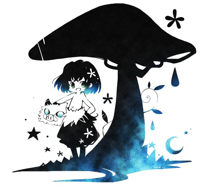 🍄 Illust of orange lore KimetsunoYaiba HashibiraInosuke