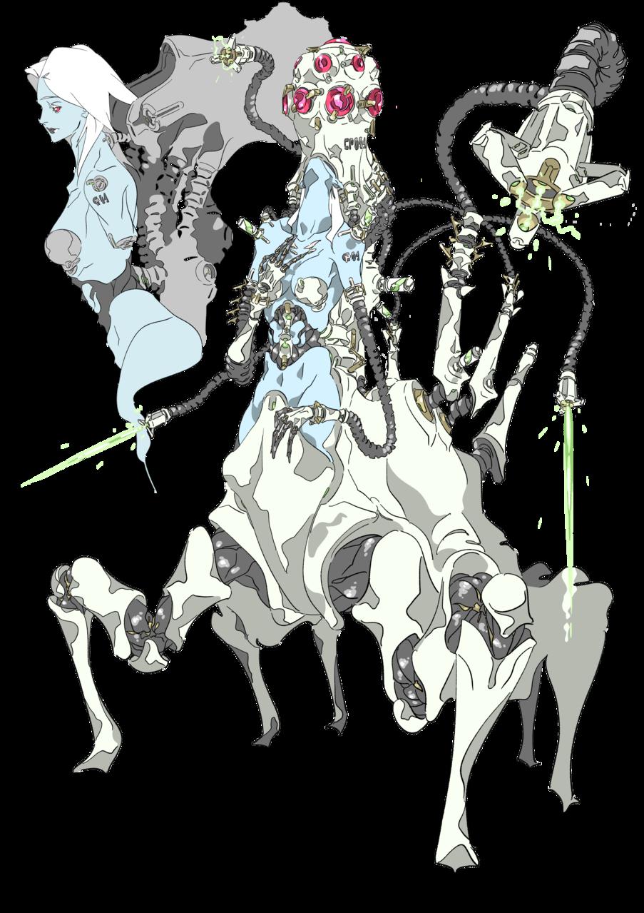 cyberpunk-04 Illust of oki November2020_Contest:Cyberpunk cyberpunk original characterdesign medibangpaint cyborg