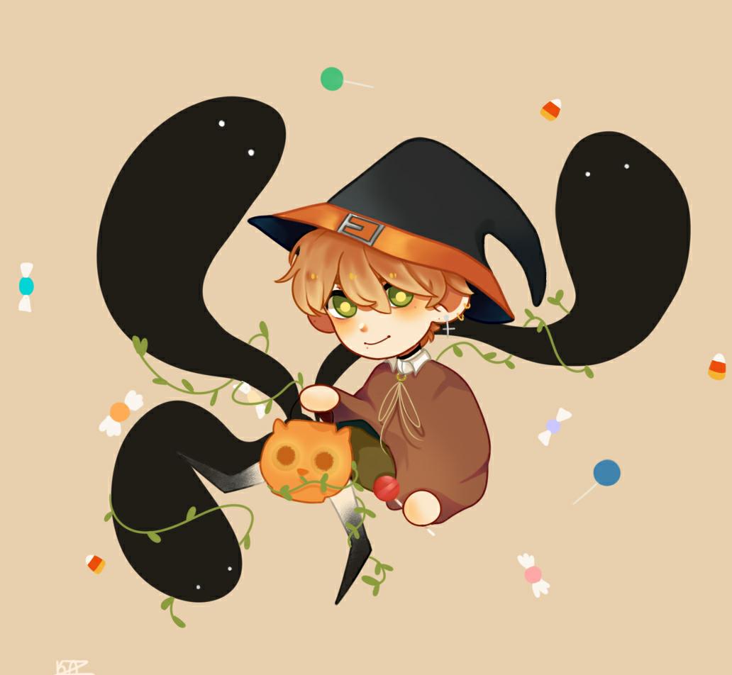 Happy Halloween ahre💖