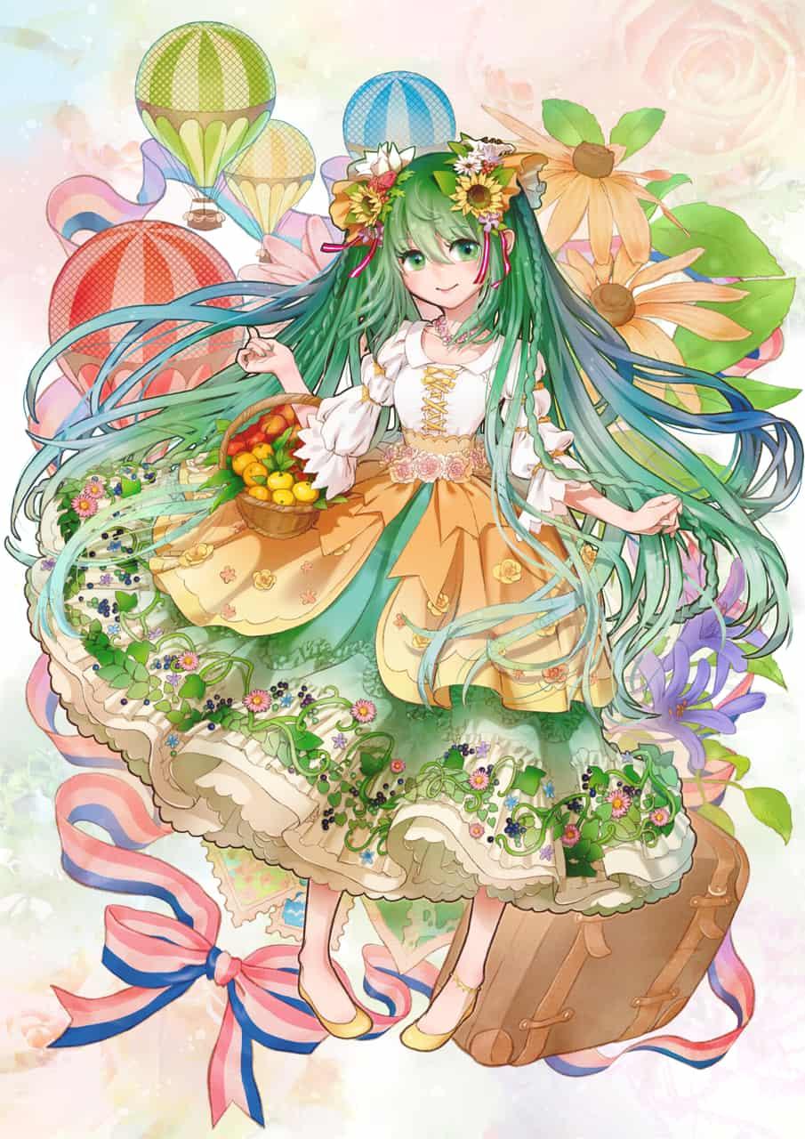【宣伝】トリコロールと村娘 Illust of 七屋 とろろ hatsunemiku VOCALOID