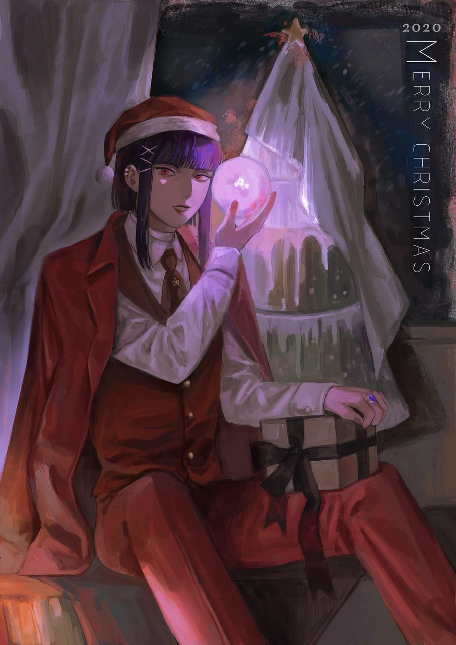 Merry Christmas Illust of ASHX December2020_Contest:Santa illustration anime