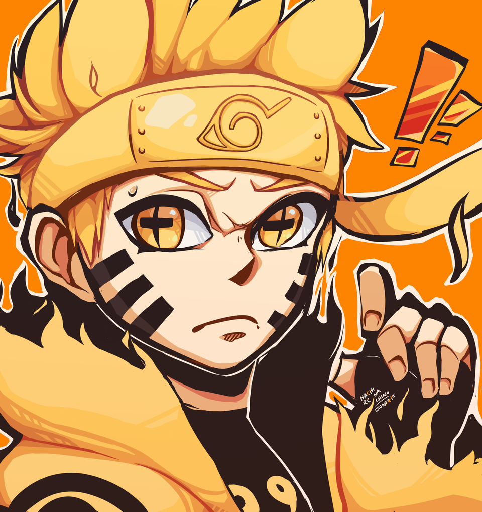 naruto six paths sage mode chibi icon