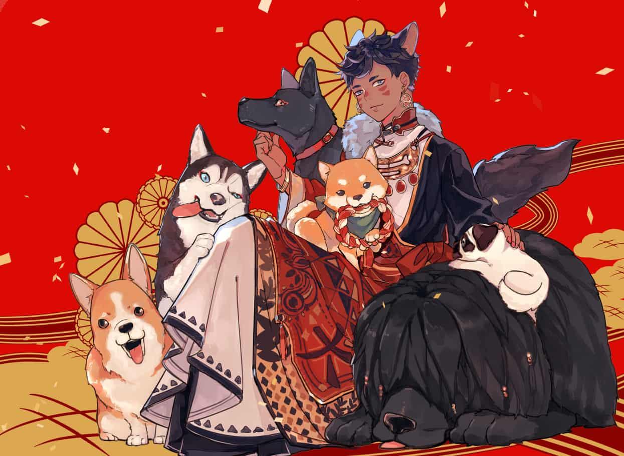 狗狗  Illust of Gene DOGvsCAT_DOG