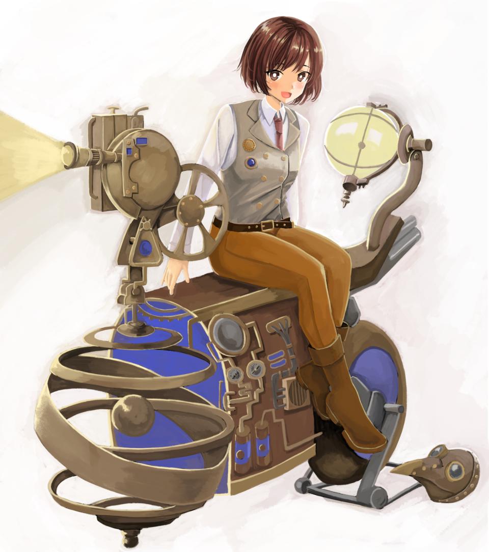 スチームパンク Illust of はまち ARTstreet_Ranking girl steampunk