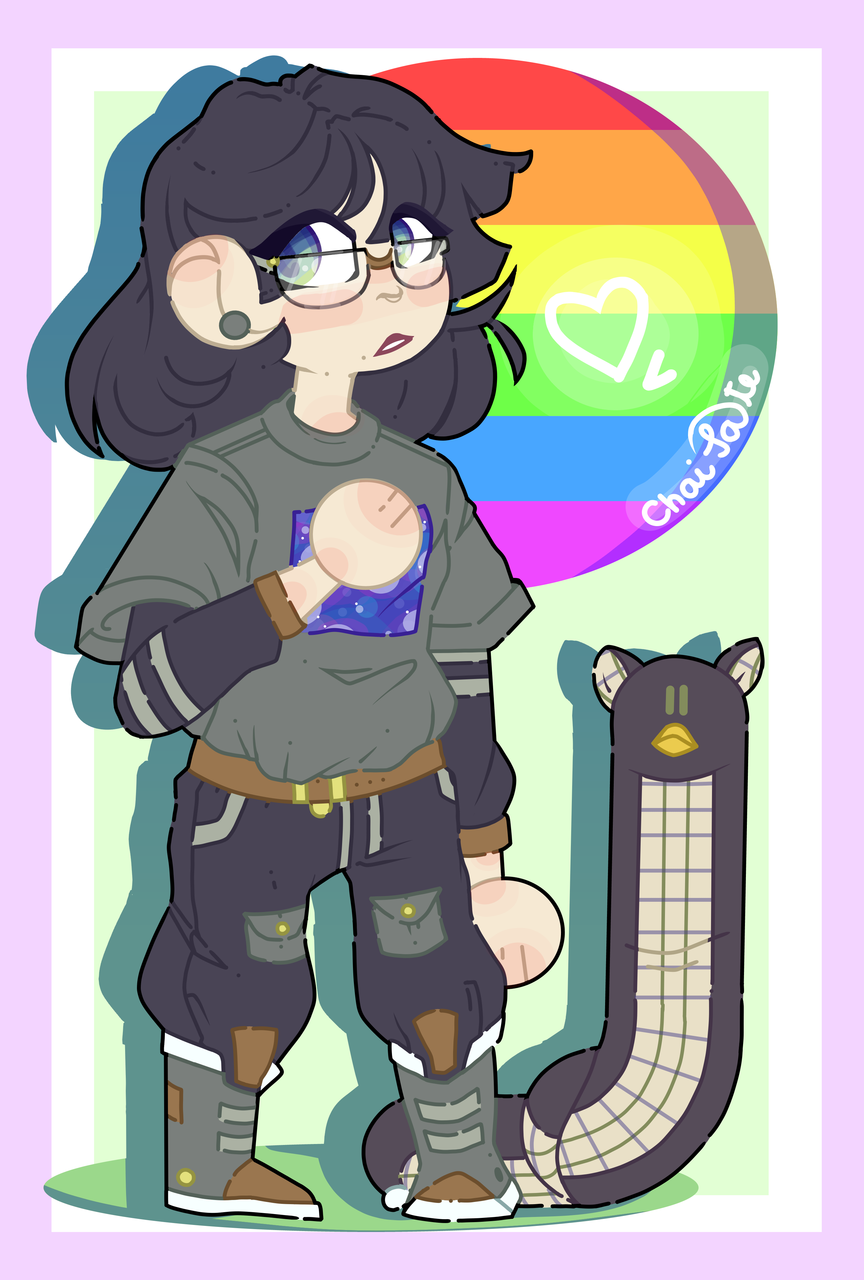 gay goth mother and her furby snek