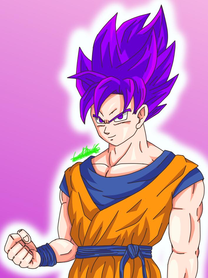 Son Goku Super Saiyajin Morado uwu Illust of nagu