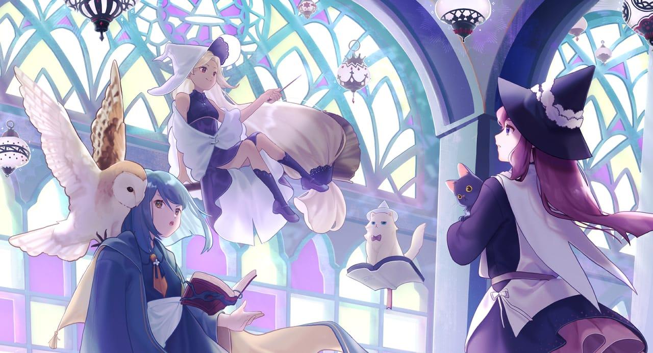The witch rally Illust of 微米 MySecretSocietyContest illustration