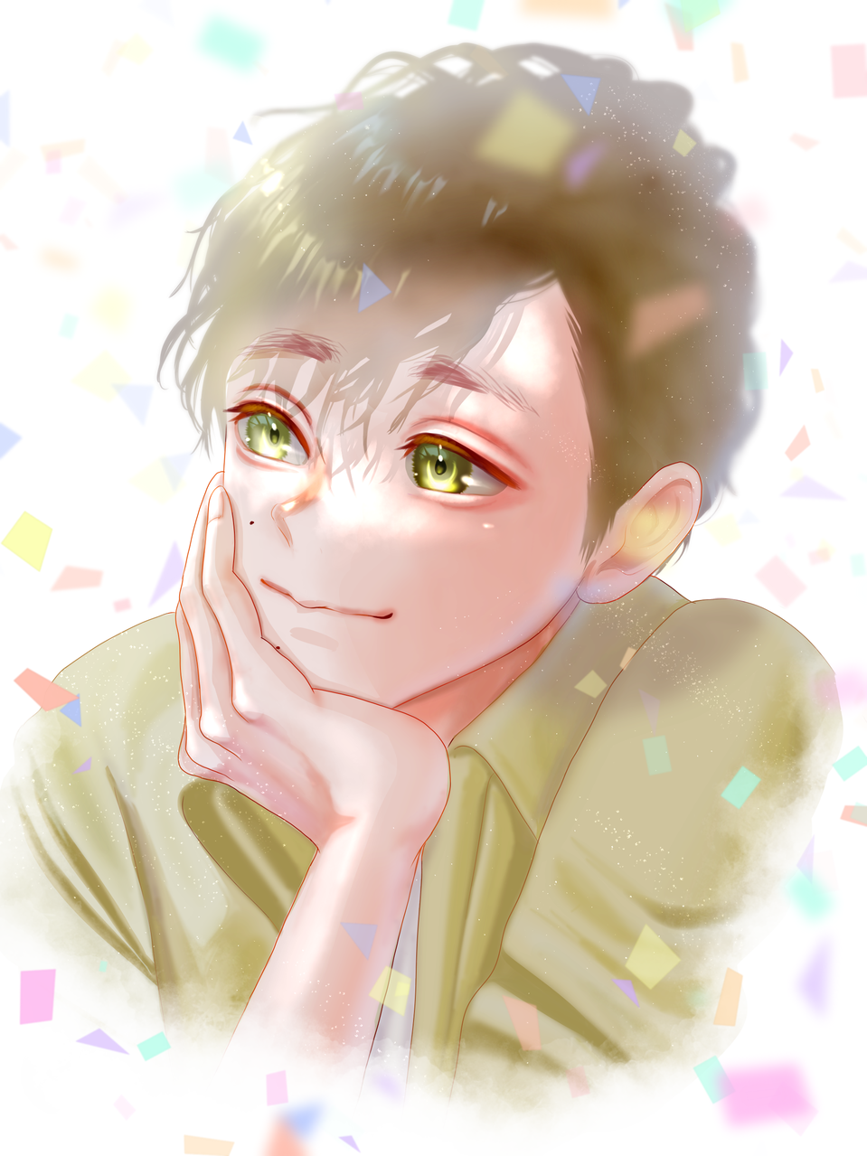 Illust of FJ boy yellow