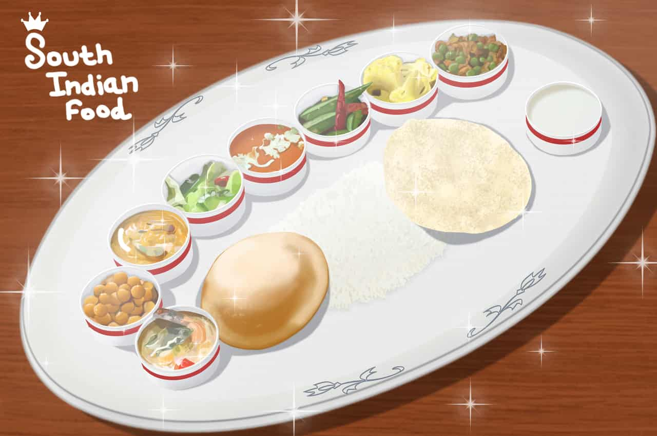 Food/South Indian food Illust of brave john October2020_Contest:Food April.2020Contest:Color ARTstreet_Ranking brag.your.country Indian medibangpaint cuisine beautiful