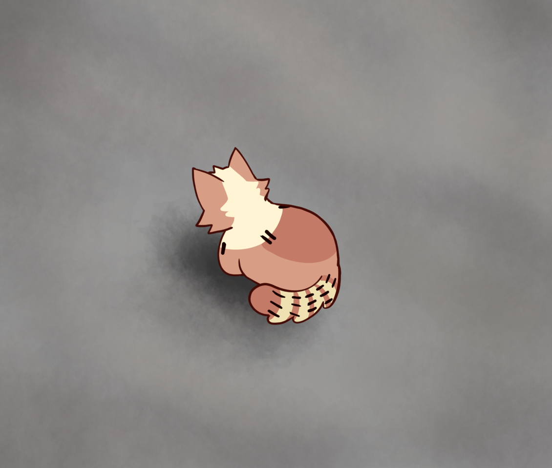 so,, Illust of dushk furry medibangpaint oc