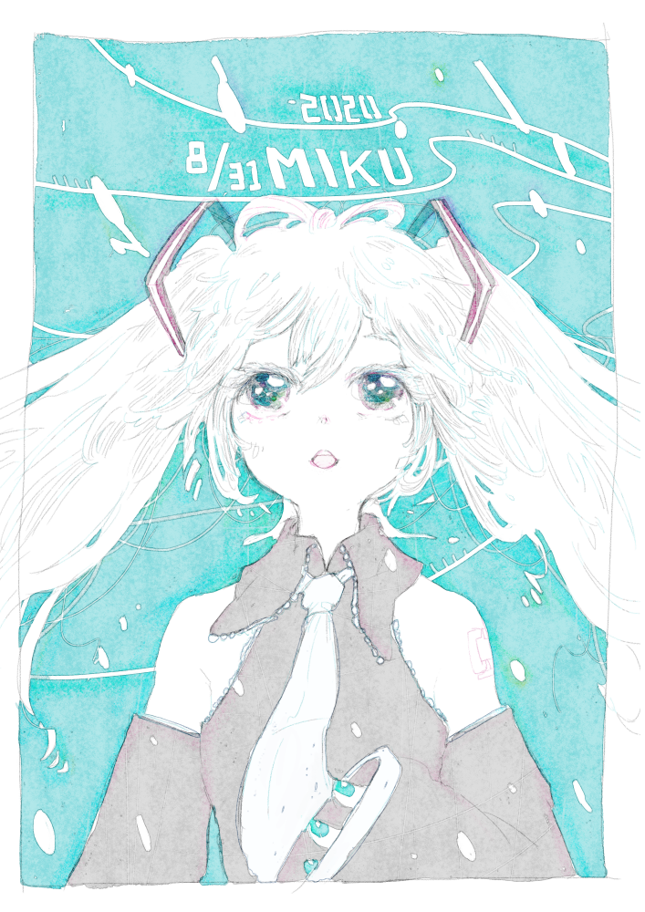 2020MIKU Illust of 氏← hatsunemiku VOCALOID