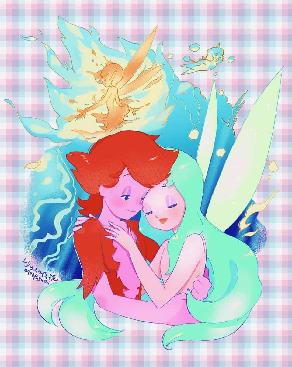 シリウスの伝説 Illust of PAGUCHI anime fanart シリウスの伝説 サンリオ medibangpaint カラフル animefanart fairy