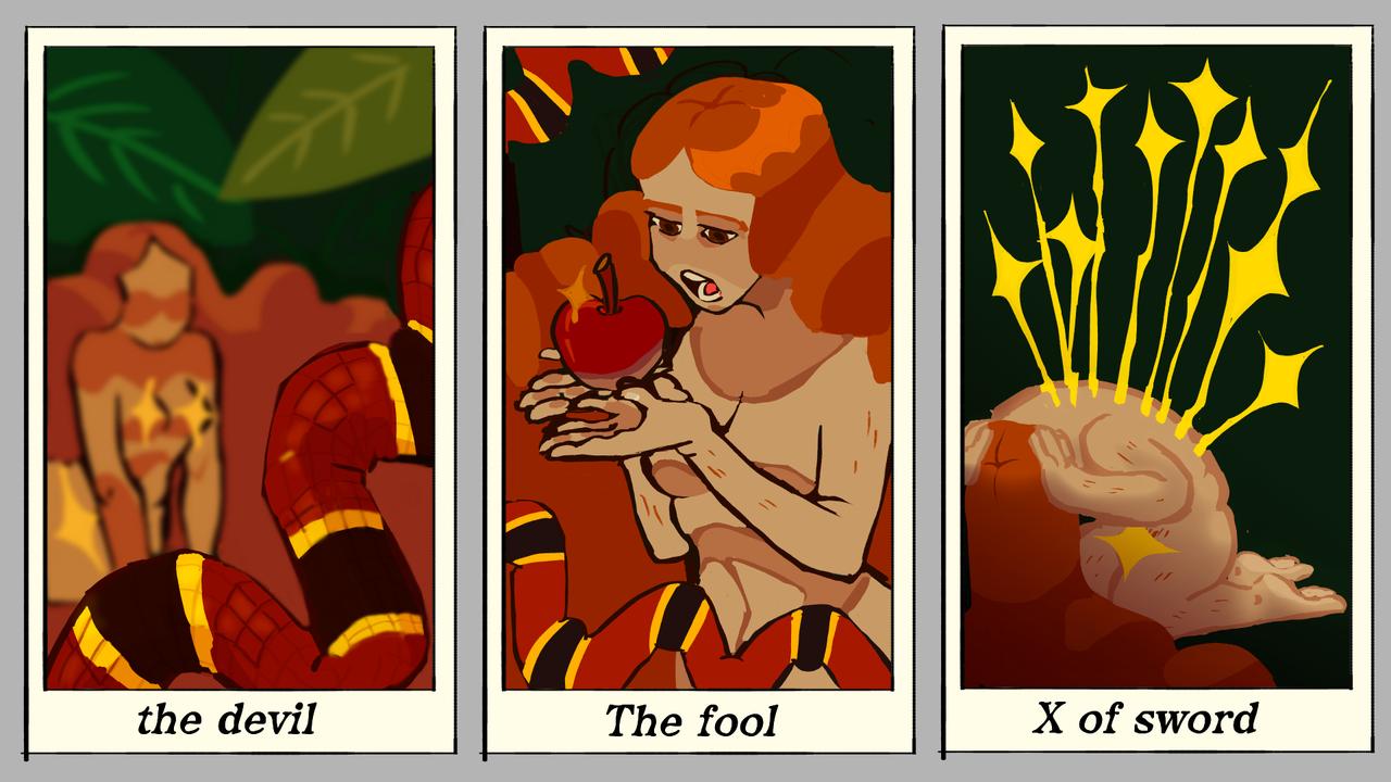 eve tarot cards