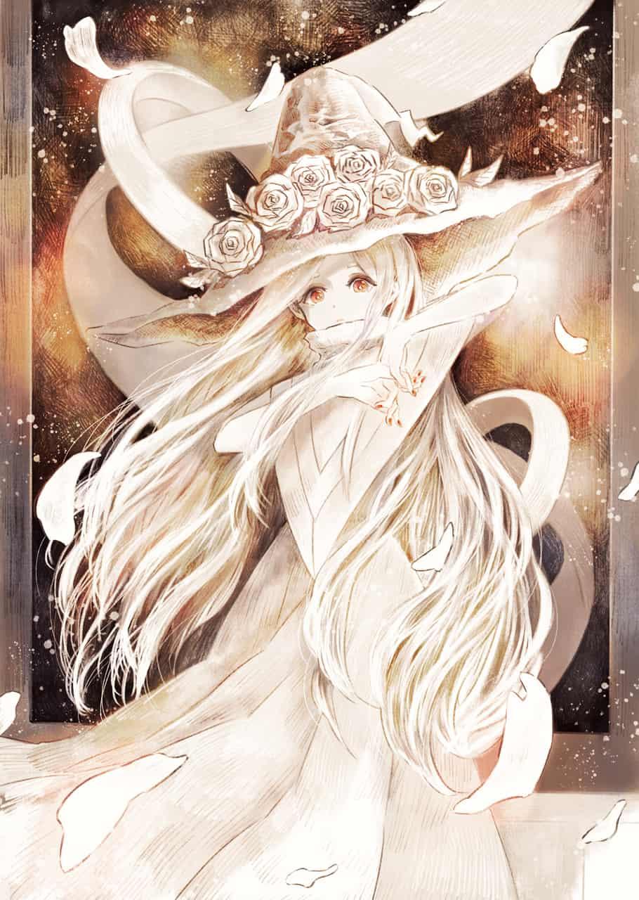 白いバラの魔女 Illust of 伊砂祐李 (Yuri Isa) white_hair original witch rose girl