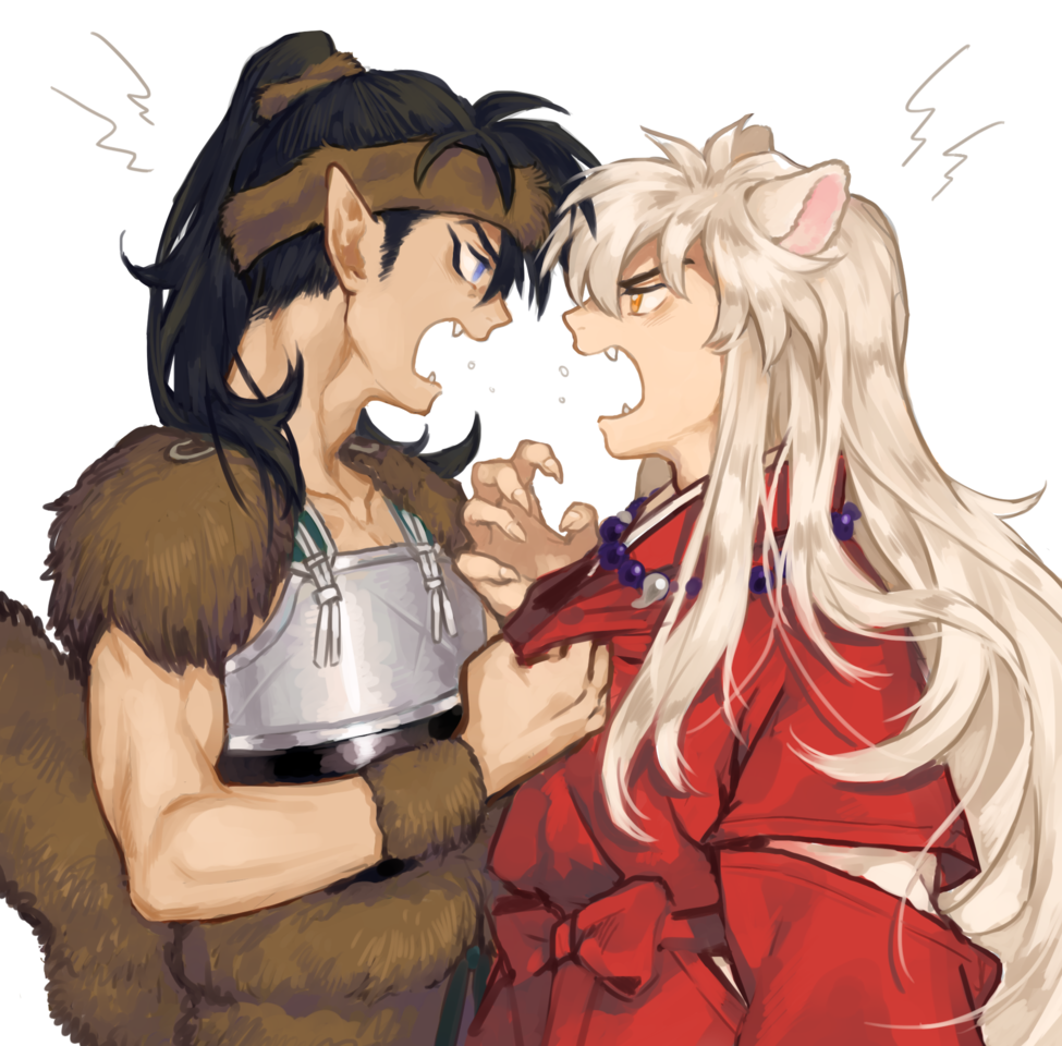 けんか Illust of 豆もやし Inuyasha