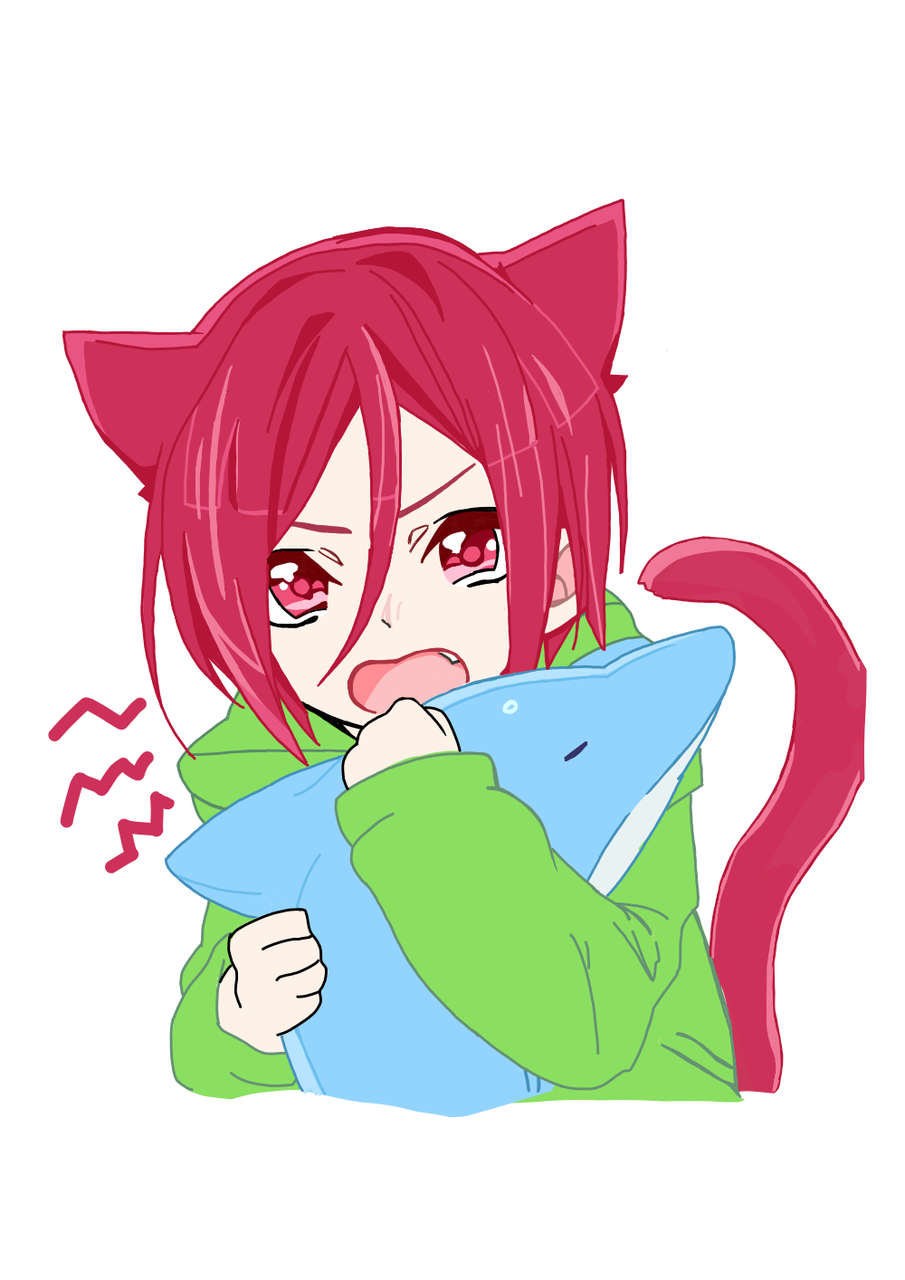Rin Matsuoka Chibi Ordiinary Giirl Illustrations Art Street A wide variety of rin matsuoka cosplay options are available to you, such as supply type, product type, and gender. rin matsuoka chibi ordiinary giirl