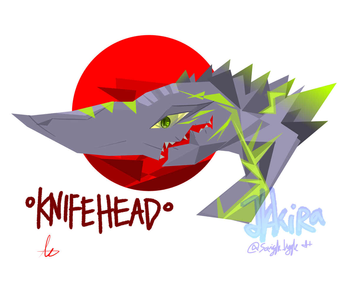 Knifehead Logo vector