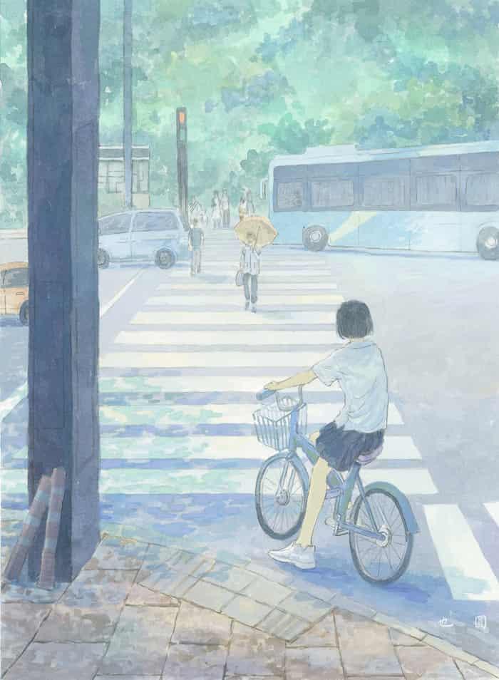 夏日的时差 Illust of yeyuan summer original
