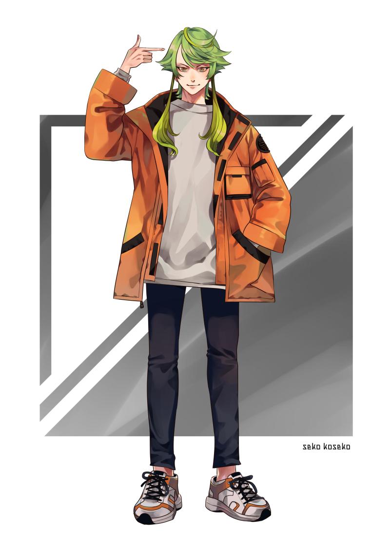 キャラデザ① Illust of sk oc