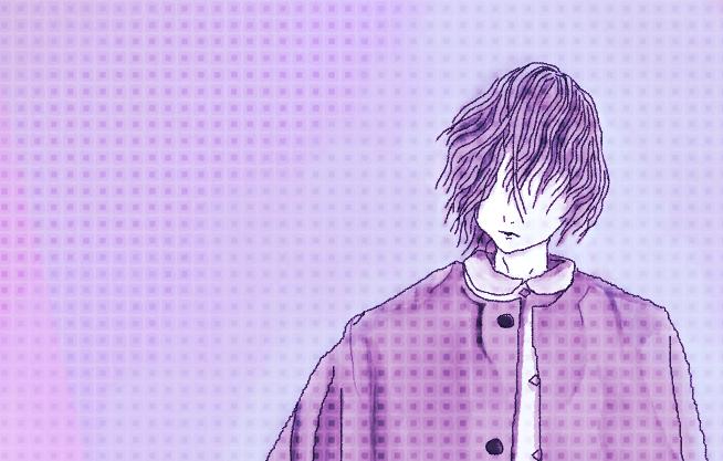 紫 Illust of 八神 奏 Post_Multiple_Images_Contest oc original purple gothic boy
