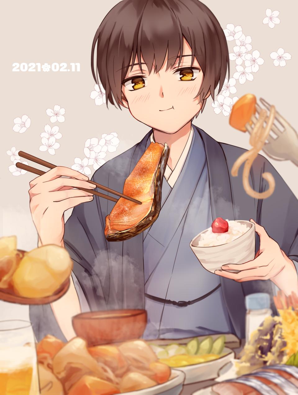 お誕生日おめでとう!! Illust of イルカ APH 本田菊