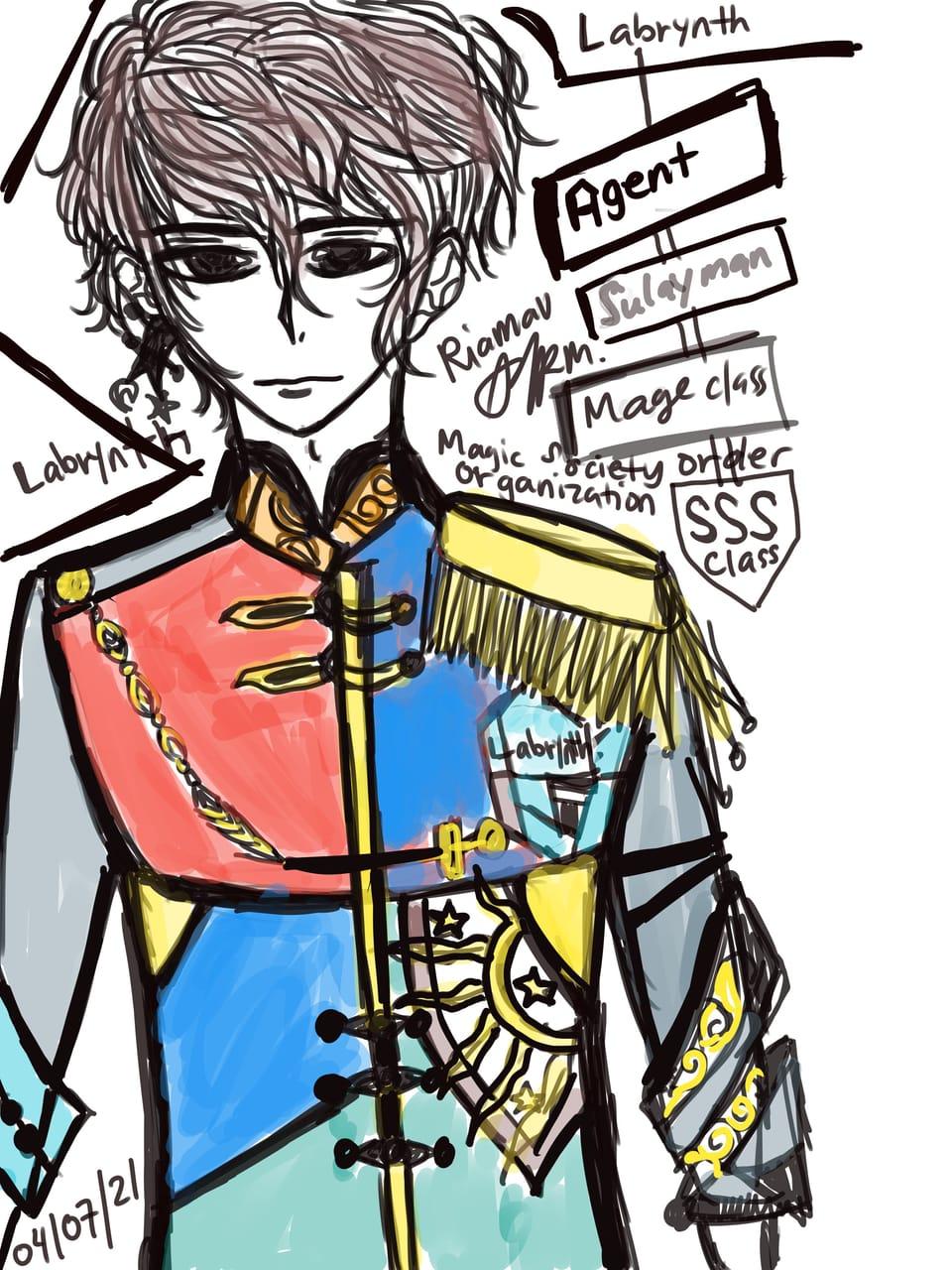 ① Labrynthsecret magic order organization  Illust of RiaMAV MySecretSocietyContest