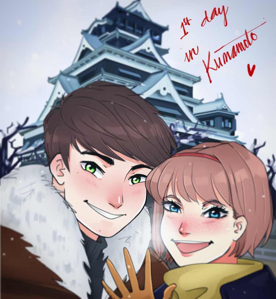 Memorieas in Kumamoto
