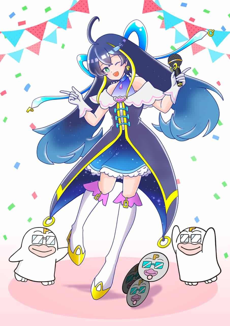 アイドルガール Illust of やきにくがすき PICO公式キャラクターPICOQガールフレンド大募集!!コンテスト