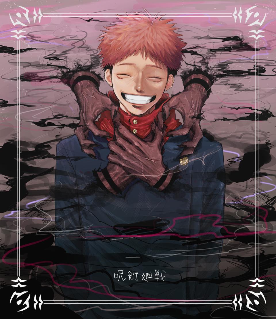 呪い Illust of ざわ JujutsuKaisenFanartContest medibangpaint JujutsuKaisen