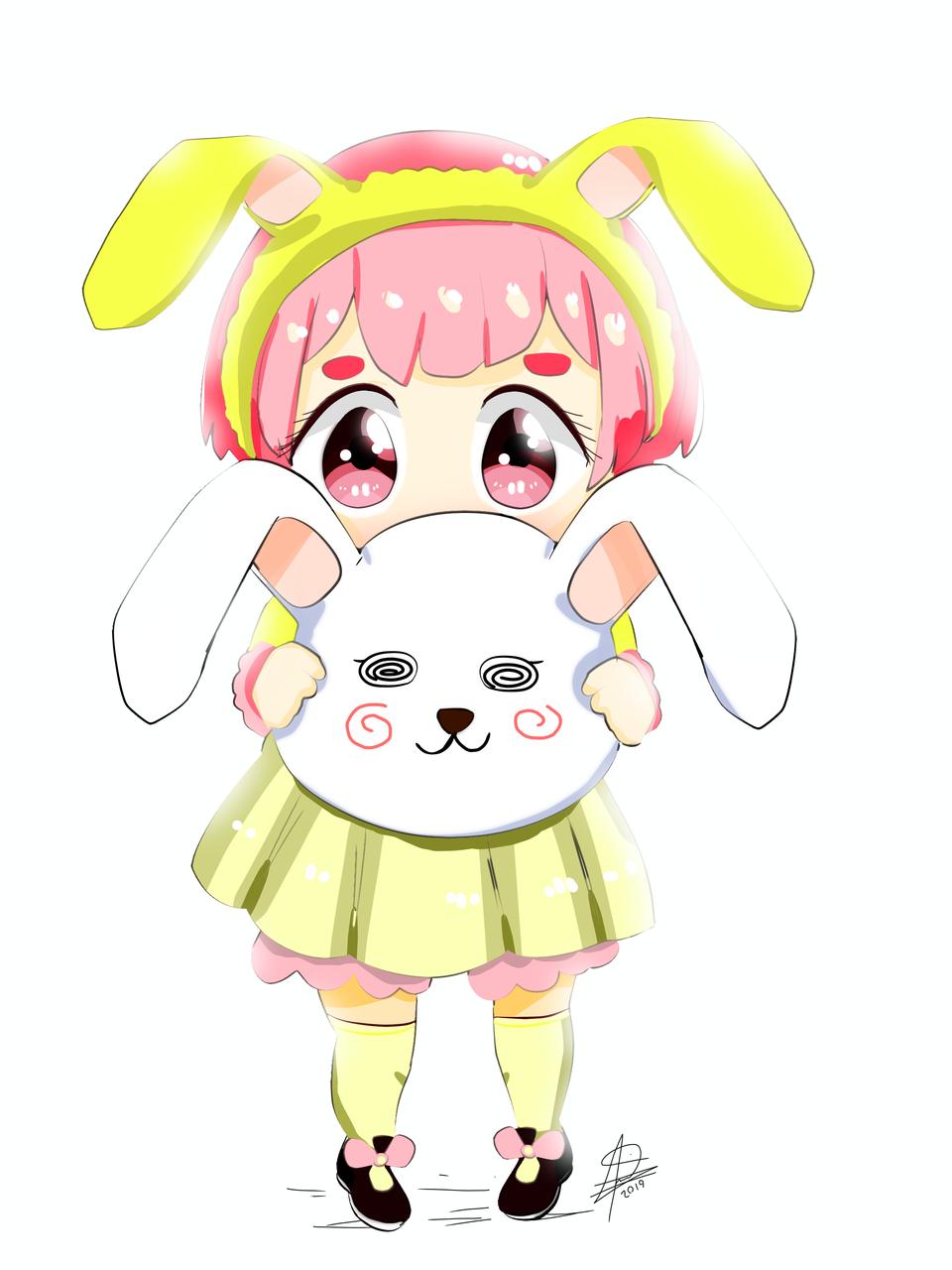 OC: ice-cream (usagi)